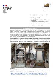 PARIS (Paris 4e). Eglise saint Merri. Autels du transept - marbres | LEROUX, (L.)