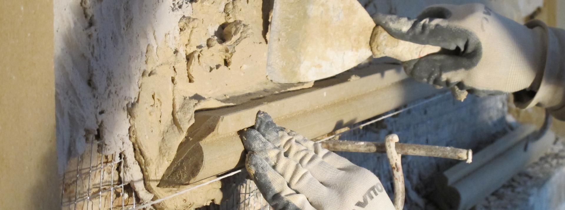 Formation de l'École de Chaillot  L'usage du plâtre dans le bâti ancien  